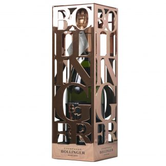 bollinger rosé metal box