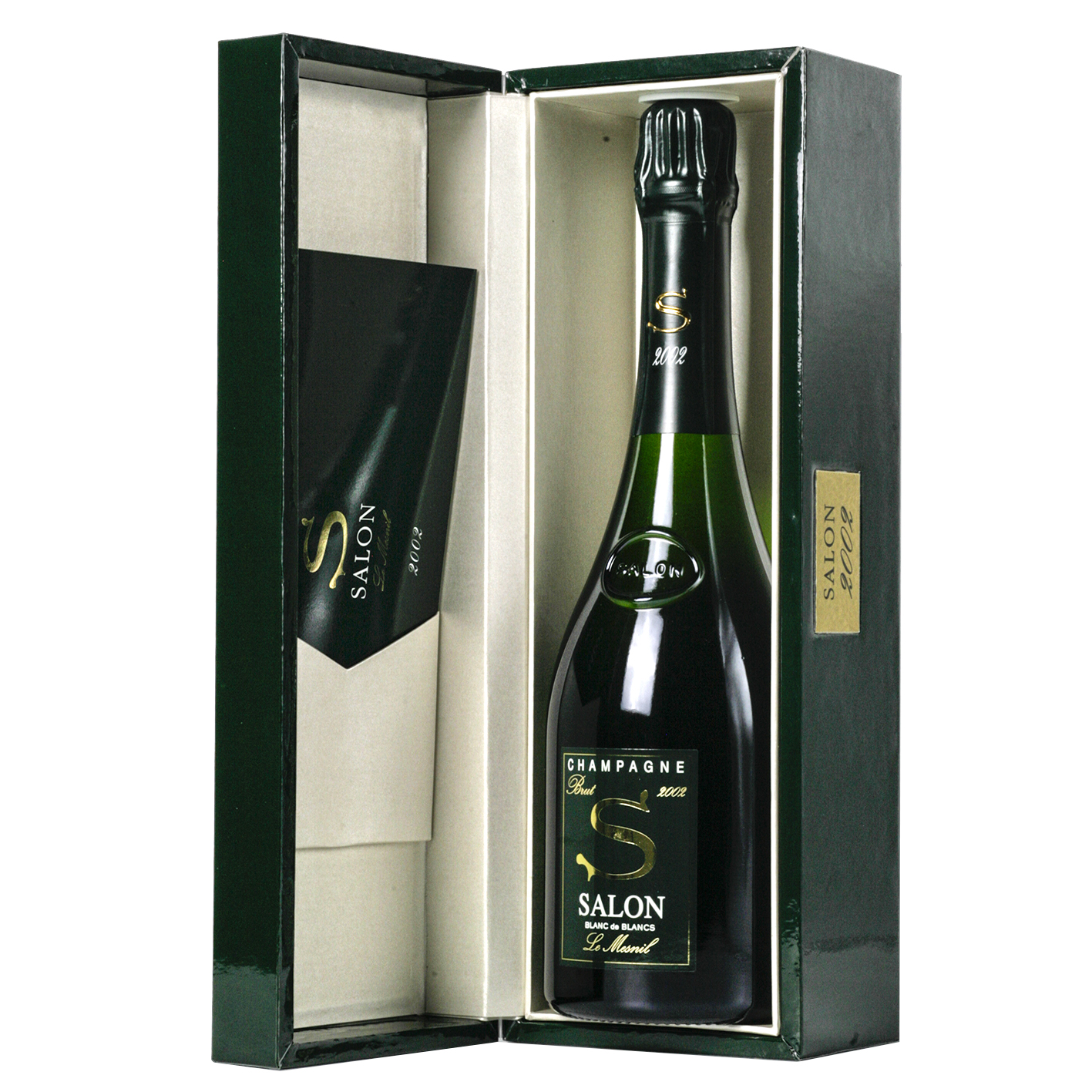 Salon Champagne Blanc de Blancs Le Mesnil 2002 Box - Enotic.it