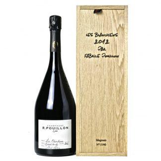 Pouillon Champagne Premier Cru Nature Les Blanchiens 2012 Magnum Cassa