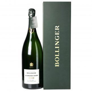 Bollinger Champagne La Grande Année 2008 Doppia Magnum cofanetto