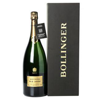 Bollinger Champagne Extra Brut RD 2004 Magnum cofanetto in legno