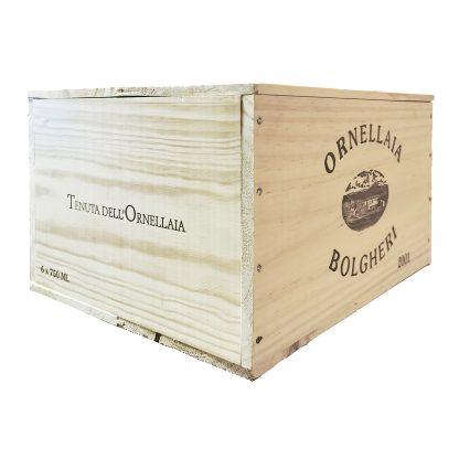 Ornellaia Bolgheri Superiore 2006 cassa in legno sigillata 6 bottiglie