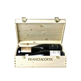 Andrea Arici Franciacorta Dosaggio Zero Millesimato, Riserva Francesco, Zero R.S. 3 bt in cassetta in legno