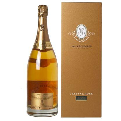 Louis Roederer Champagne Cristal Rosè Brut Millesime 2009 Magnum cofanetto
