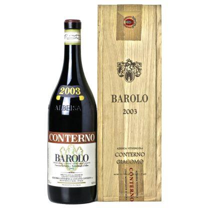 Giacomo Conterno Barolo Cascina Francia 2003 Magnum cassa in legno originale