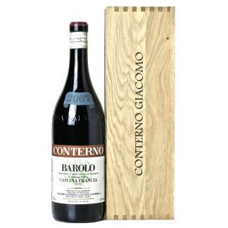 Giacomo Conterno Barolo Cascina Francia 2007 Magnum cassa in legno originale