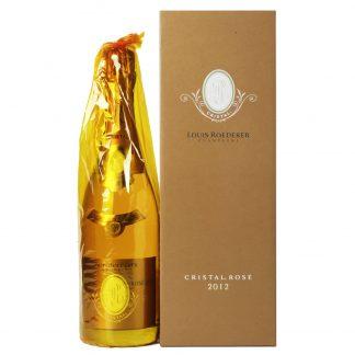 Louis Roederer Champagne Cristal Rosè Brut Millesime 2012 cofanetto