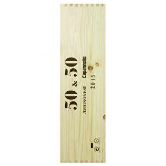 Capannelle Avignonesi Toscana 50&50 2015 Doppio Magnum cassa in legno