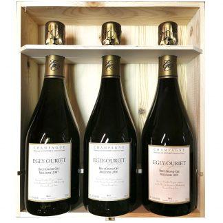 Egly Ouriet Champagne Brut Grand Cru Collezione Verticale 2009 2008 2007