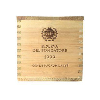 Cantine Ferrari Giulio Ferrari Riserva del Fondatore 1999 Magnum cassa in legno