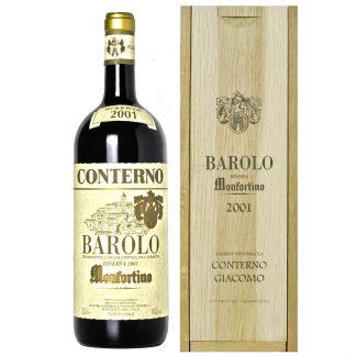 Giacomo Conterno Barolo Riserva Monfortino 2001 Magnum cassa in legno