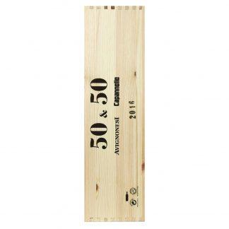 Capannelle Avignonesi Toscana 50&50 2016 Doppio Magnum cassa in legno