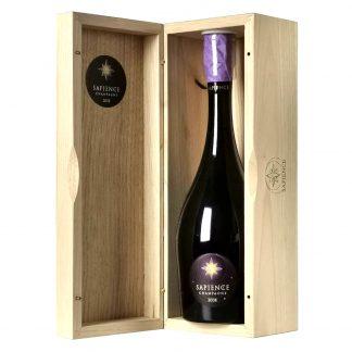 Marguet Champagne Premier Cru Brut Nature Sapience Oenothèque 2008 cofanetto in legno