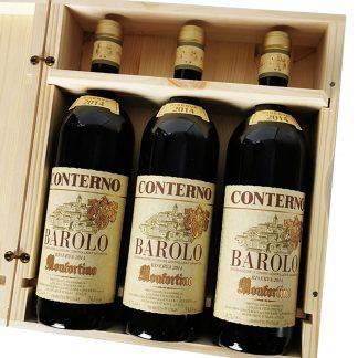 Giacomo Conterno Barolo Riserva Monfortino 2014 cassa da 3 bottiglie