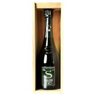 Salon Champagne Brut Blanc de Blancs Le Mesnil 1997 cassa in legno