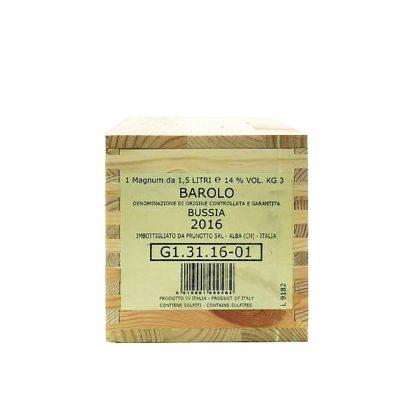 Prunotto Barolo Bussia 2016 Magnum cassa in legno