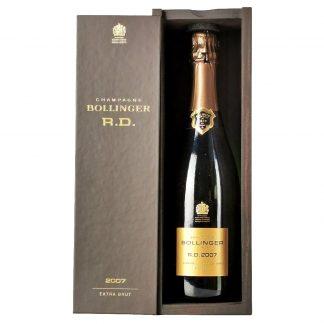 Bollinger Champagne Extra Brut RD 2007 cofanetto