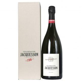 Jacquesson Champagne Extra Brut Cuvée 739 Dégorgement Tardif Astuccio Magnum