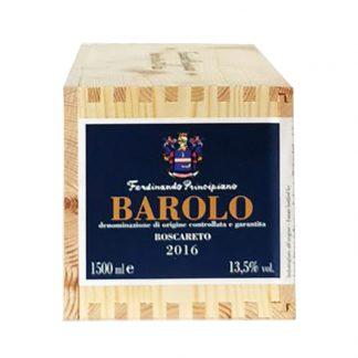 Principiano Barolo Boscareto 2016 Magnum cassa in legno