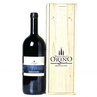 Pian dell'Orino Brunello di Montalcino Bassolino di Sopra 2012 Magnum cassa in legno