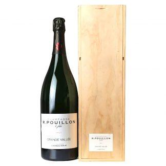 Pouillon Champagne Brut Grande Vallée Doppia Magnum cassa